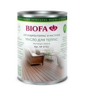 Масло для террасBIOFA3753 Биофа, 10 литров