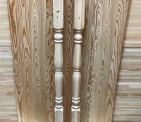Балясина из лиственницы 50 х 50 х 900 мм №1, Экстра