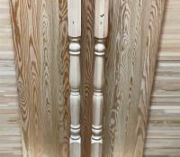 Балясина из лиственницы 50 х 50 х 900 мм №2, Экстра