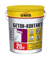 Грунт Unis Бетон-Контакт, 20 кг