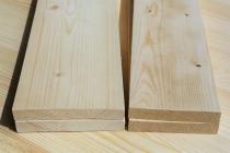 Доска строганная из сосны и ели 35 х 95 х 6000 мм, A