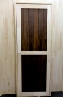 Дверь для бани и сауны 40 х 700 х 1800 мм, глухая №1