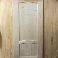 Дверь из сосны и ели 40 х 800 х 2000 мм, филёнчатая, AB