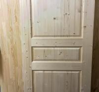 Двери из сосны и ели 40 х 900 х 2000 мм, массив