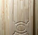 Двери из сосны и ели 40 х 600 х 2000 мм, массив, AB
