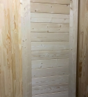 Дверь из сосны и ели 40 х 600 х 2000 мм, массив, AB