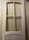 Дверь из сосны и ели 40 х 600 х 2000 мм, под стекло, AB