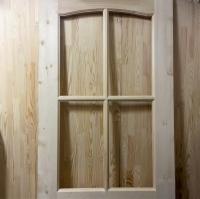 Дверь из сосны и ели 40 х 700 х 2000 мм, под стекло, AB