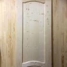 Дверь из сосны и ели 40 х 600 х 2000 мм, филёнчатая, AB