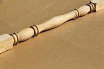 Колонна из сосны и ели 120 х 120 х 2700 мм №3, Экстра