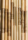 Колонна из сосны и ели 100 х 100 х 2700 мм №4, Экстра