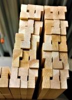 Коробочный брус из сосны и ели 40 х 65 х 2200 мм, A