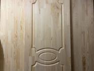 Дверь из сосны и ели 40 х 600 х 2000 мм, массив, Экстра