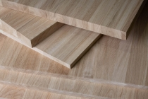 Мебельный щит из дуба 18 х 600 х 2000 мм, цельноламельная, Экстра