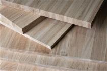 Мебельный щит из дуба 40 х 1200 х 2500 мм, цельноламельная, Экстра