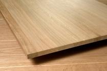 Мебельный щит из дуба 18 х 600 х 2400 мм, цельноламельная, Экстра