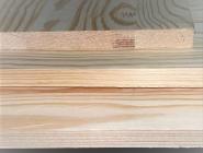 Мебельный щит из сосны и ели 18 х 500 х 2500 мм, сращенный, Экстра