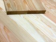 Мебельный щит из лиственницы 18 х 600 х 1100 мм, цельноламельная, Экстра
