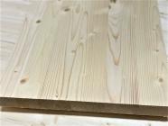 Мебельный щит из сосны и ели 40 х 300 х 2000 мм, цельноламельный, A