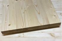Мебельный щит из сосны и ели 28 х 300 х 3000 мм, цельноламельный, A