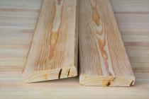 Палубная доска из лиственницы 45 х 145 х 4000 мм, Прима