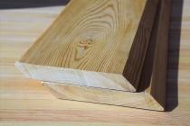 Планкен из лиственницы 20 х 140 х 3000 мм, скошенный, Прима
