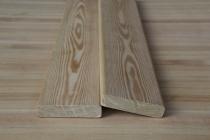 Планкен из лиственницы 20 х 90 х 3000 мм, прямой, BC