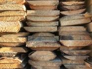 Полуобрезная доска из сосны и ели 25 х 150 х 6000 мм