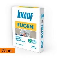 Шпаклёвка гипсовая, Knauf Фуген, 25 кг