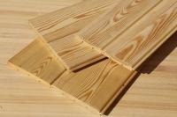 Вагонка штиль из лиственницы 14 х 120 х 3000 мм, A