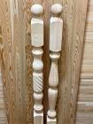 Столбы из сосны и ели 80 х 80 х 1200 мм №1, Экстра