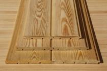 Вагонка штиль из лиственницы 14 х 120 х 4000 мм, A
